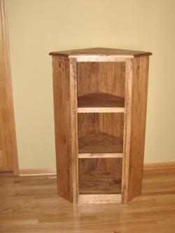 Pine Corner Shelf