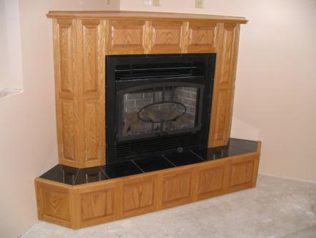 Oak Fireplace Surround