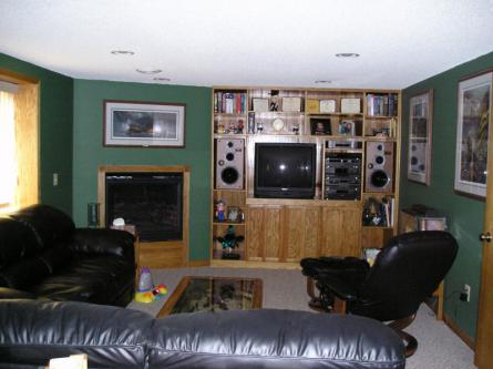 Oak Entertainment Center #2