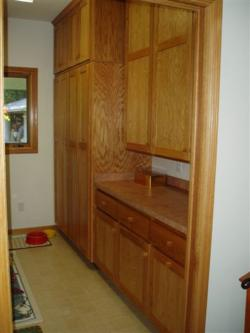 Oak Pantry Cabinets
