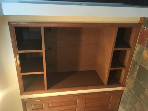 Built in Coat cubby bench