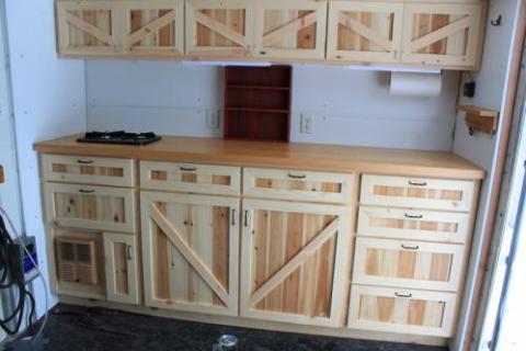 Pine/Cedar Cabinets