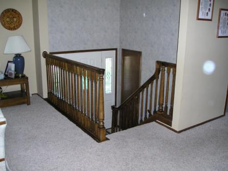 Oak Stair Rail